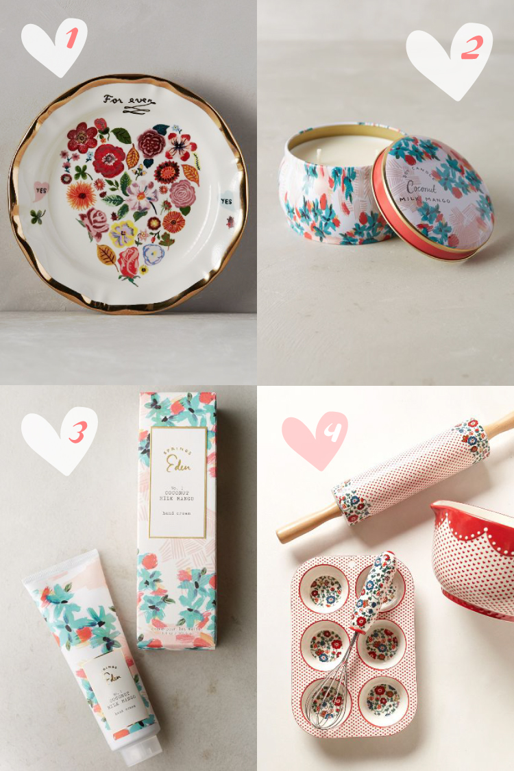 Anthropologie Valentines Gifts
