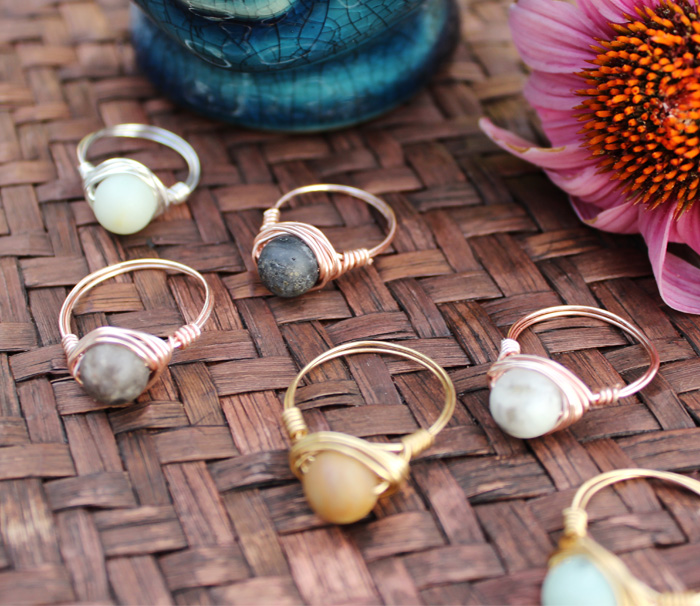 Boho Rings Salt City Gems